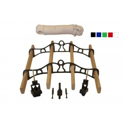0.9m Traditional Clothes Airer Set